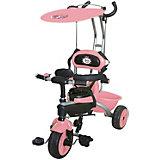 Трехколесный велосипед Jack&Lin, розовый