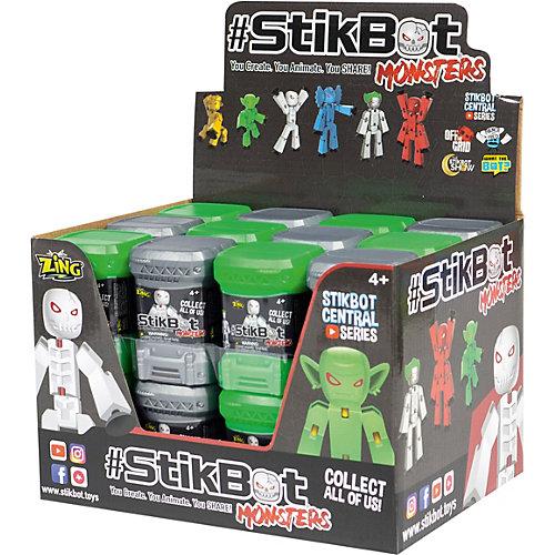 "Игрушка Zing Stikbot ""Монстр"" в капсуле от Zing"