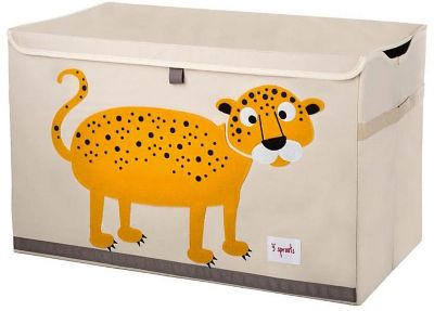 Сундук для хранения игрушек 3 Sprouts Леопард