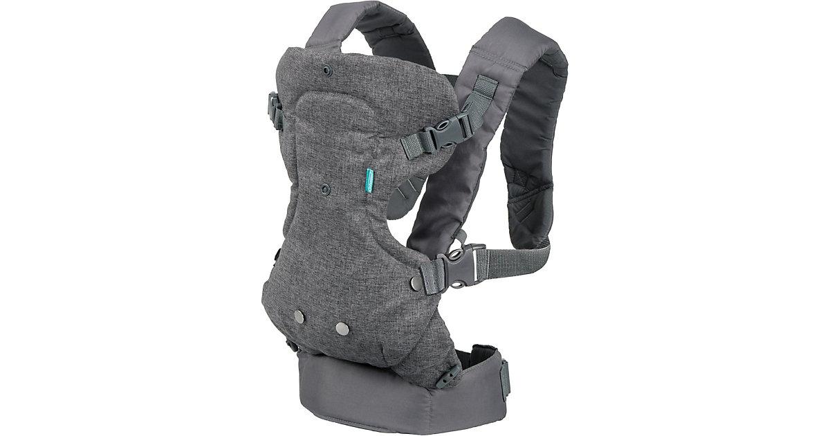 Babytrage Flip Advanced 4 in 1, grau/türkis türkis-kombi
