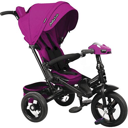 Трехколесный велосипед Moby Kids New Leader 360° 12x10 AIR Car, ягодно-пурпурный от Moby Kids