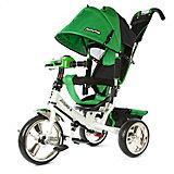 Трехколесный велосипед Наша игрушка Comfort, зеленый