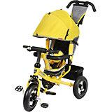 Трехколесный велосипед Comfort 12x10 AIR, желтый