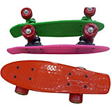 Скейтборд Наша игрушка, со светом