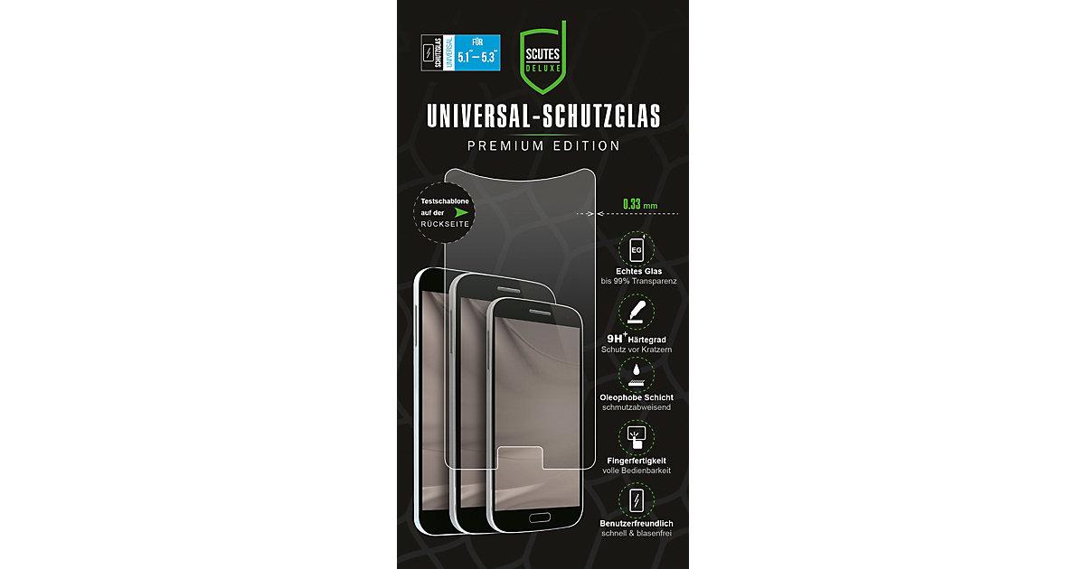 """Universal-Schutzglas Premium 0,33mm Smartphones 5,1""""-5,3""""  Kinder"""