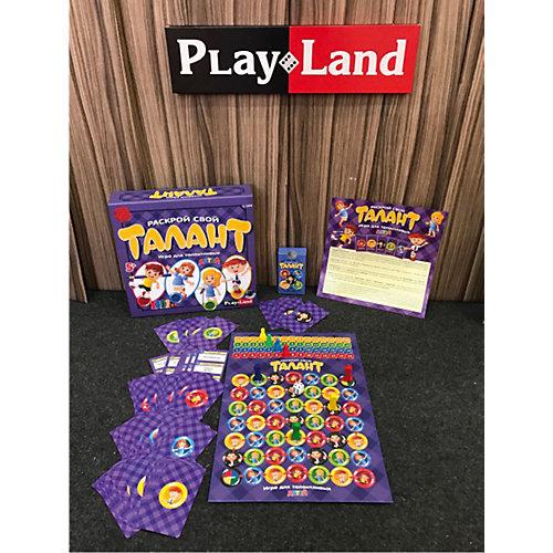 Настольная игра Play Land Раскрой свой Талант: для детей от Play Land