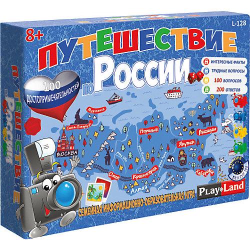 Настольная игра Play Land Путешествие по России от Play Land