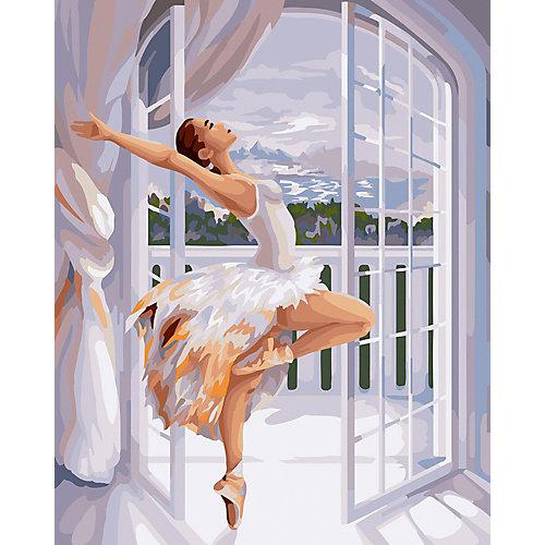 """Картина по номерам Фрея """"Балерина у окна"""", 50 х 40 см от Фрея"""