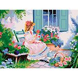 """Картина по номерам Фрея """"В цветущем саду"""", 30 х 40 см"""