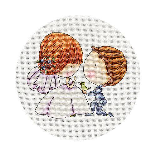 """Набор для вышивания Klart """"С любовью"""" от Klart"""