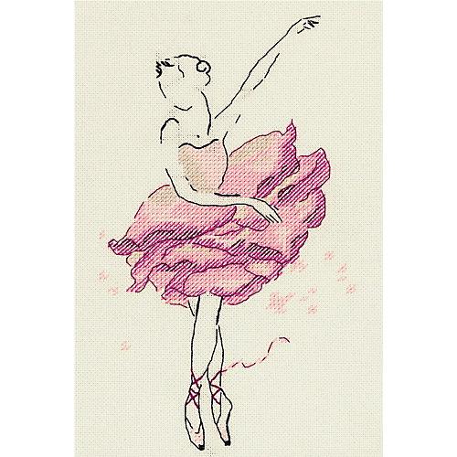 """Набор для вышивания Panna """"Балерина: Роза"""" от Panna"""