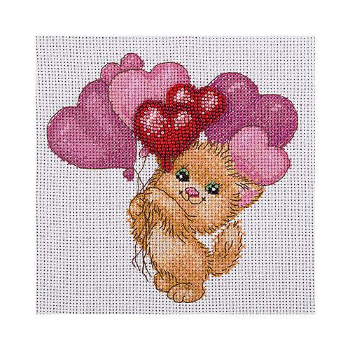 """Набор для вышивания Klart """"Котик с шариками"""" от Klart"""