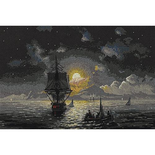 """Набор для вышивания Panna """"Золотая серия: Лунная ночь на Капри"""" от Panna"""