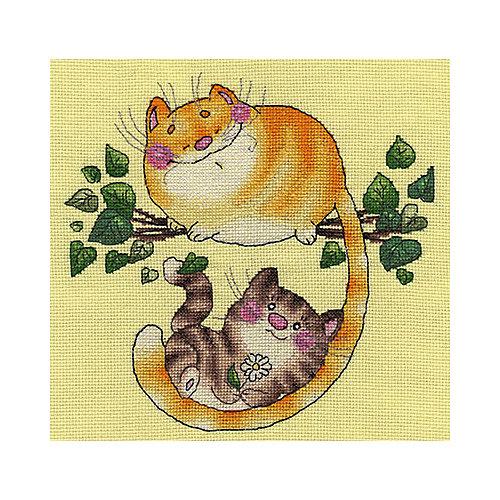 "Набор для вышивания Klart ""Котята на дереве"" от Klart"