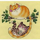 """Набор для вышивания Klart """"Котята на дереве"""""""