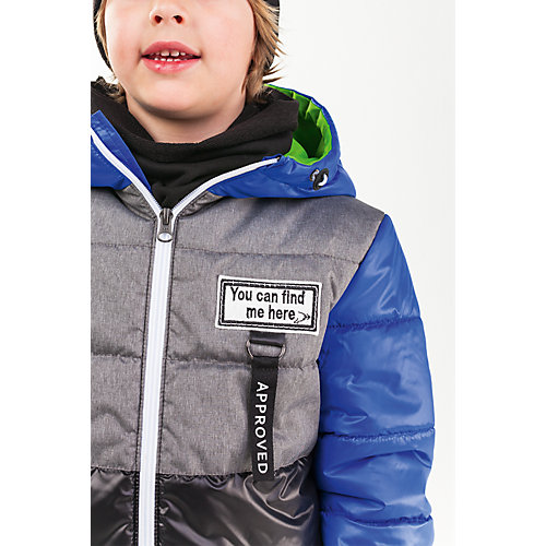 Утепленная куртка BOOM by Orby - schwarz/blau от BOOM by Orby