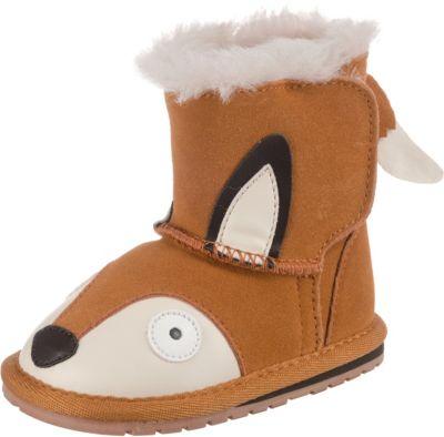 Baby Winterstiefel Fox Walker für Jungen, Fuchs, EMU Australia