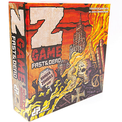 Настольная игра Dead Project: Z-игра, Еда и Смерть от Магеллан