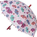 "Зонт Mary Poppins ""Весенние бабочки"" , 48 см"
