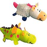 """Мягкая игрушка-вывернушка 1Toy """"Блеск с пайетками"""", Единорог-Дракон"""