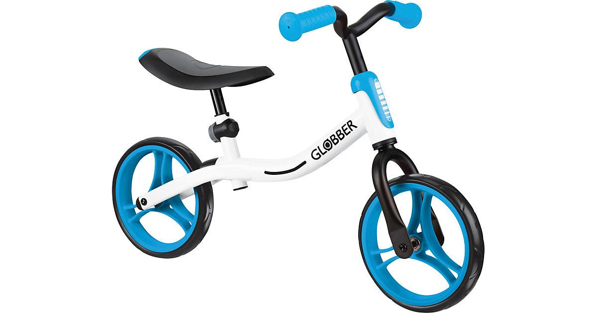 GLOBBER Go Bike weiß/sky-blue blau Gr. 10