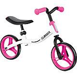 Беговел Globber Go Bike, бело-розовый
