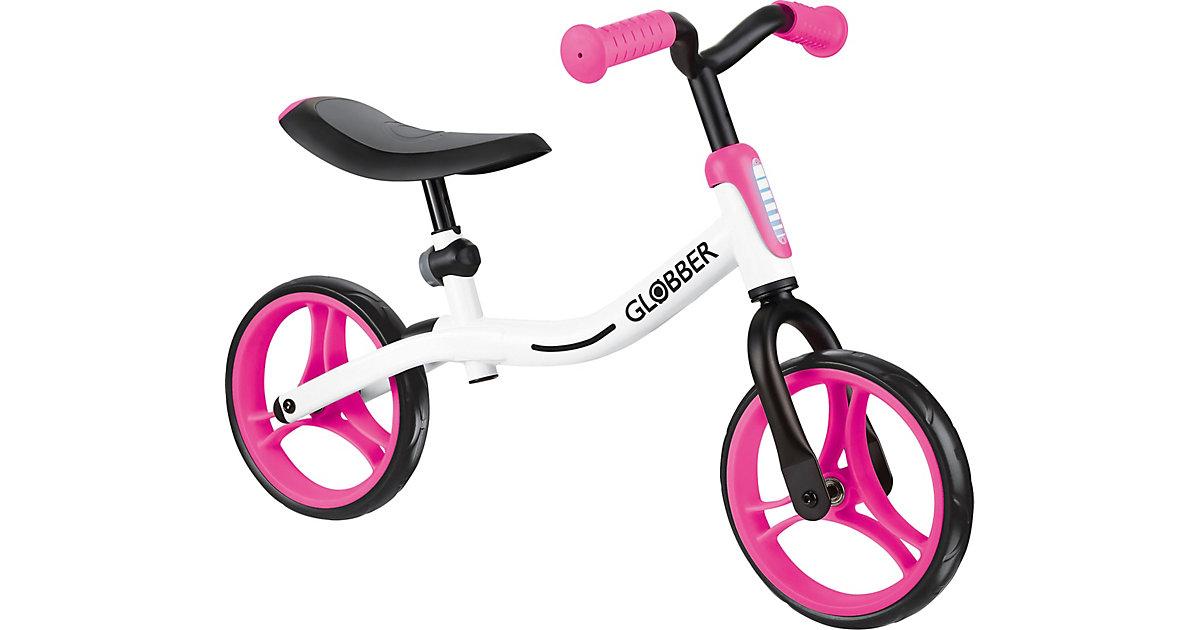 GLOBBER Go Bike weiß/pink pink/weiß Gr. 10