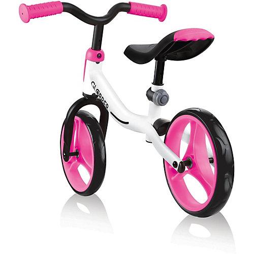Беговел Globber Go Bike, бело-розовый от Globber