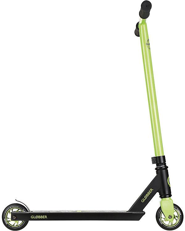 GLOBBER Stuntscooter GS360, schwarz-grün, Globber q5UPmb