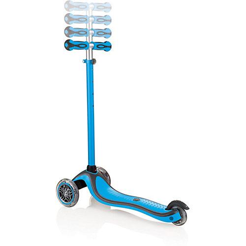 Трехколесный самокат Globber Primo Plus Lights Color, светящиеся колеса от Globber