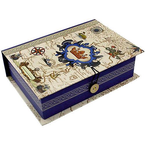 Коробка подарочная Феникс-презент Путь в новый свет, размер S от Феникс-Презент