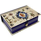 Коробка подарочная Феникс-презент Путь в новый свет, размер S
