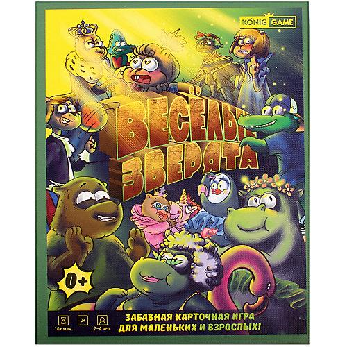 Настольная игра KonigGame Веселые зверята от KonigGame
