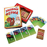 Настольная игра Рыжий кот Забавная ферма