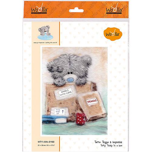 """Набор для творчества Woolla """"Татти Тедди в коробке"""" от Woolla"""