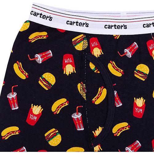 Трусы Carter's, 2 шт. - черный/розовый от carter`s