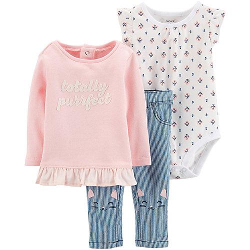 Комплект для новорожденного Carter's - pink/blau от carter`s