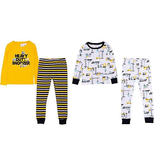 Пижама Carter's, 2 шт. - желтый/белый от carter`s