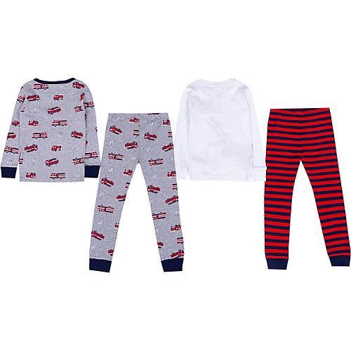 Пижама Carter's, 2 шт. - grau/rot от carter`s