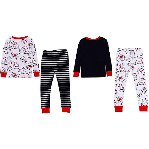 Пижама Carter's, 2 шт. - черный/белый от carter`s