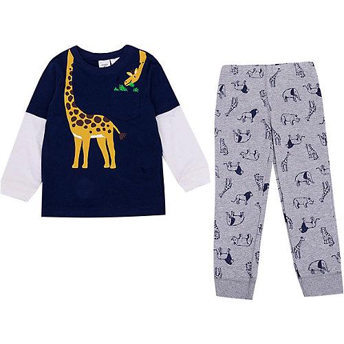 Комплект Carter's: лонгслив и штаны - темно-синий от carter`s