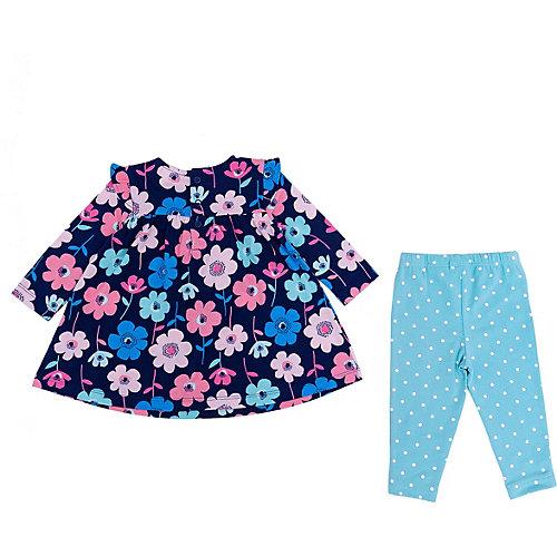Комплект Carter's: платье и леггинсы - разноцветный от carter`s