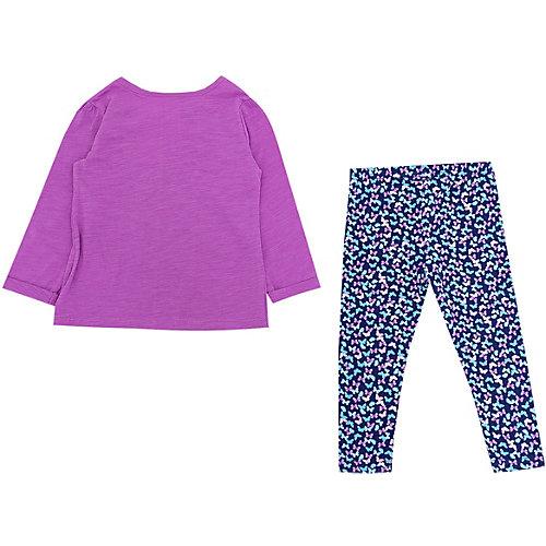Комплект Carter's: лонгслив и леггинсы - фиолетовый от carter`s