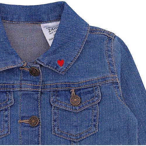 Джинсовая куртка Catimini - джинсовый от carter`s