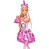 """Кукла Simba Steffi Love """"Штеффи в розовом платье с единорогом"""", 29 см"""