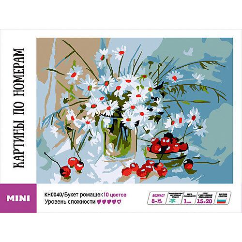 """Картина-открытка по номерам Molly """"Букет ромашек"""" от Molly"""