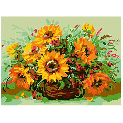 """Картина-открытка по номерам Molly """"Солнечный букет"""" от Molly"""