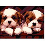 """Картина-открытка по номерам Molly """"Симпатичные друзья"""""""