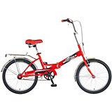 """Велосипед Novatrack FS30, 20"""", красный"""