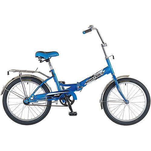Двухколесный велосипед Novatrack FS30, 20 дюймов, синий - синий от Novatrack